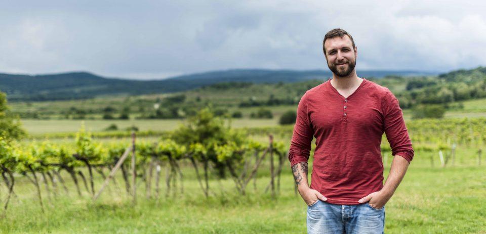 Matej Farbula - organizátor Vína pod hviezdami